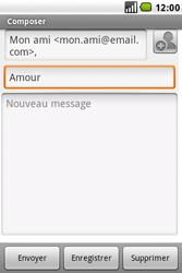 LG GW620 - E-mail - envoyer un e-mail - Étape 6