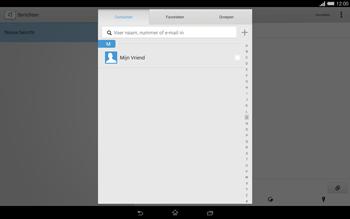 Sony Xperia Tablet Z2 (SGP521) - MMS - afbeeldingen verzenden - Stap 6