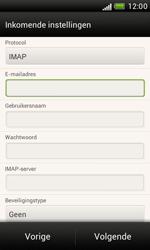 HTC T328e Desire X - E-mail - Handmatig instellen - Stap 10
