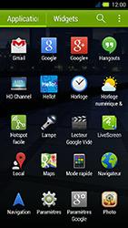 Acer Liquid E3 - Internet - Configuration manuelle - Étape 3