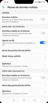 Huawei Mate 20 Lite - Internet - Désactiver les données mobiles - Étape 6