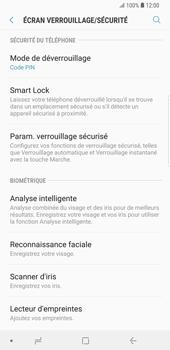 Samsung Galaxy S9 Plus - Sécuriser votre mobile - Activer le code de verrouillage - Étape 12