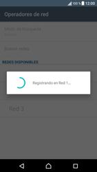 Sony Xperia X - Red - Seleccionar una red - Paso 11