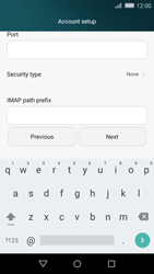 Huawei P8 Lite - E-mail - Manual configuration - Step 11