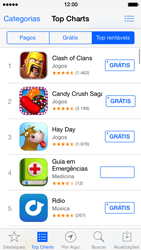 Apple iPhone iOS 7 - Aplicativos - Como baixar aplicativos - Etapa 10
