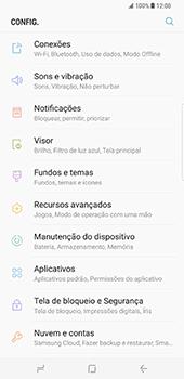 Samsung Galaxy S8 Plus - Segurança - Como ativar o código de bloqueio do ecrã -  4