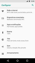 Motorola Moto X4 - Rede móvel - Como ativar e desativar o modo avião no seu aparelho - Etapa 4