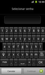 Samsung Galaxy S II - Segurança - Como ativar e desativar um código para bloqueio de tela do seu celular - Etapa 7