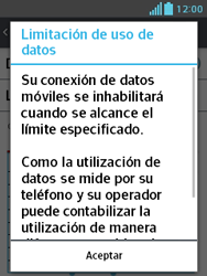 LG Optimus L3 II - Internet - Ver uso de datos - Paso 9