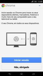 Sony Xperia E4 - Internet no telemóvel - Como configurar ligação à internet -  20