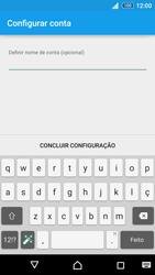 Sony Xperia Z3 Plus - Email - Adicionar conta de email -  10