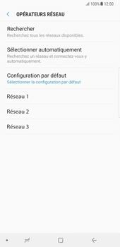 Samsung Galaxy Note 8 - Réseau - Sélection manuelle du réseau - Étape 9