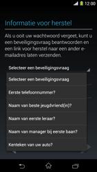 Sony Xperia Z1 4G (C6903) - Applicaties - Account aanmaken - Stap 13