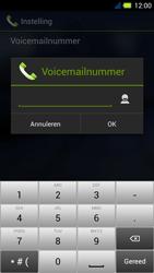 Acer Liquid E3 - Voicemail - Handmatig instellen - Stap 9