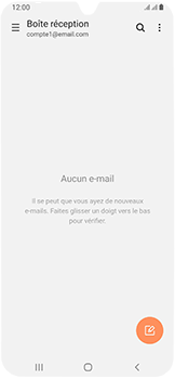 Samsung Galaxy A40 - E-mail - Configurer l