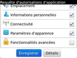 BlackBerry 9720 - Premiers pas - Créer un compte - Étape 8