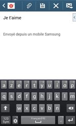 Samsung Galaxy Trend Plus S7580 - E-mail - Envoi d