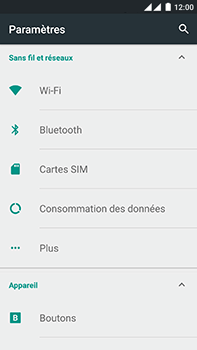 OnePlus 2 - WiFi et Bluetooth - Configuration manuelle - Étape 4