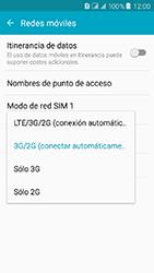 Samsung Galaxy J3 (2016) DualSim (J320) - Red - Seleccionar el tipo de red - Paso 6