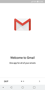 LG V30 - Email - 032a. Email wizard - Gmail - Step 4