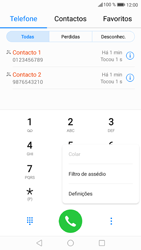 Huawei P9 Lite - Android Nougat - Chamadas - Bloquear chamadas de um número -  4