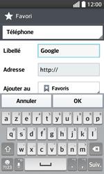 LG F70 - Internet et connexion - Naviguer sur internet - Étape 8