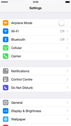 Apple iPhone 6 - Device - Reset to factory settings - Step 4