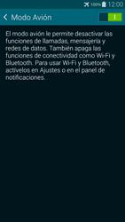 Samsung G850F Galaxy Alpha - Funciones básicas - Activar o desactivar el modo avión - Paso 6