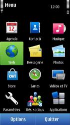 Nokia C6-01 - Internet - Navigation sur internet - Étape 2