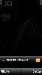 Nokia 5800 Xpress Music - Paramètres - Reçus par SMS - Étape 8