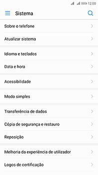 Huawei Mate 10 - Repor definições - Como repor definições de fábrica do telemóvel -  5