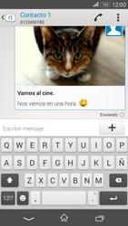 Sony Xperia E4g - Mensajería - Escribir y enviar un mensaje multimedia - Paso 18