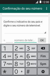 Samsung Galaxy Fame - Aplicações - Como configurar o WhatsApp -  6