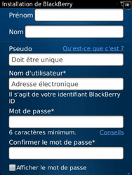 BlackBerry 9810 Torch - BlackBerry activation - BlackBerry ID activation - Étape 9