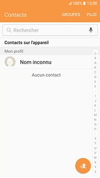 Samsung Samsung Galaxy J7 (2016) - Contact, Appels, SMS/MMS - Ajouter un contact - Étape 4