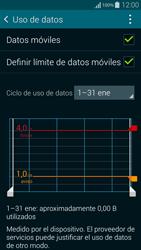 Samsung G850F Galaxy Alpha - Internet - Ver uso de datos - Paso 11