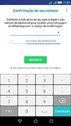 Huawei Y6 - Aplicações - Como configurar o WhatsApp -  6