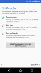 Sony Xperia X Dual SIM (F5122) - Email - Adicionar conta de email -  14