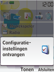 Nokia 7310 supernova - Automatisch instellen - Automatisch Internet instellen - Stap 3