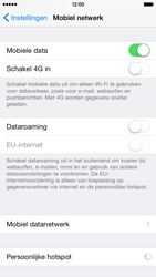 Apple iPhone 6 iOS 8 - Internet - aan- of uitzetten - Stap 4
