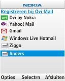 Nokia C1-01 - E-mail - e-mail instellen: POP3 - Stap 6