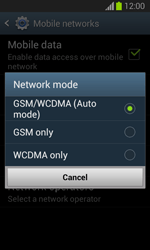 Samsung S7390 Galaxy Trend Lite - Network - Change networkmode - Step 8