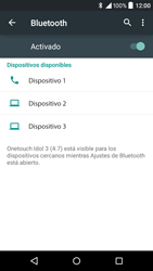 Alcatel Idol 3 - Bluetooth - Conectar dispositivos a través de Bluetooth - Paso 6
