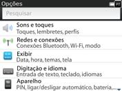 BlackBerry 9620 - Wi-Fi - Como configurar uma rede wi fi - Etapa 4