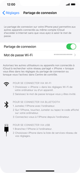 Apple iPhone XS Max - iOS 13 - Internet - comment configurer un point d'accès mobile - Étape 8