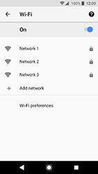 Sony Xperia XA2 - Wi-Fi - Connect to a Wi-Fi network - Step 9