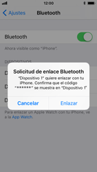 Apple iPhone SE iOS 11 - Bluetooth - Conectar dispositivos a través de Bluetooth - Paso 6