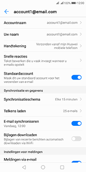 Huawei Mate 10 Pro Dual-SIM (Model BLA-L29) - E-mail - Instellingen KPNMail controleren - Stap 7
