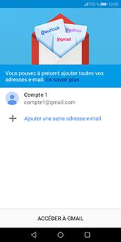 Huawei P Smart - E-mails - Ajouter ou modifier votre compte Gmail - Étape 13