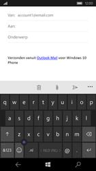 Microsoft Lumia 550 - E-mail - E-mail versturen - Stap 5